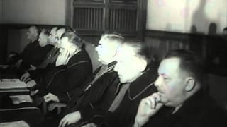 getlinkyoutube.com-Auschwitz, Krakow-Trial 1947