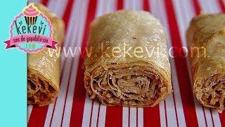 getlinkyoutube.com-Tahinli Süper Çıtır Rulo - Kekevi Yemek Tarifleri