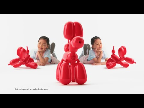 Squeakee the Balloon Dog- Red