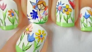 getlinkyoutube.com-Fairy nail art by LuvableNails