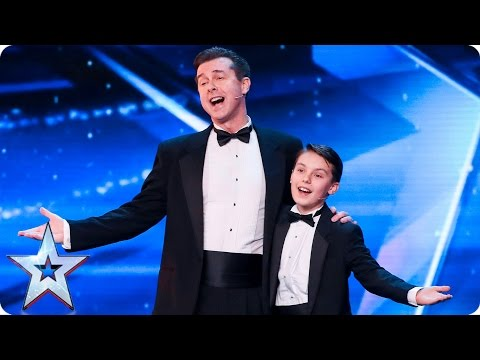 John & Brandon leave us seeing double | Auditions Week 2 | Britain's Got Talent 2017
