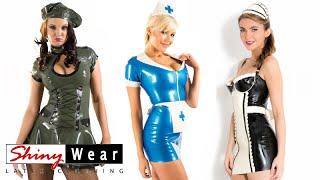 getlinkyoutube.com-Latex uniforms and costumes for women