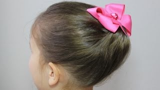 getlinkyoutube.com-かんたん かわいい まとめ髪/ギブソンタック2 Simple updo hairstyle / Gibson tuck