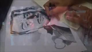 getlinkyoutube.com-Portrait Saad Lamjarred from Ghaltana 2016 - رسم سعد لمجرد غلطانة