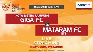 getlinkyoutube.com-Giga FC VS Mataram FC (FT : 3-5) - Blend Futsal Profesional 2017