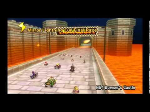 LET'S FUCKNG PLAY MARIO KART WII- MIRROR LIGHTINING CUP