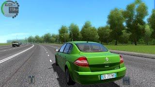 getlinkyoutube.com-Cizy Car Driving 1.5.1 Renault Megane 2.0i TrackIR 4 Pro [1080P]