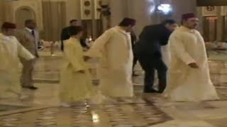 getlinkyoutube.com-تدخلات عزيزالجعايدي الأخرى Aziz Jaidi the best bodyguard in the world in action other situations