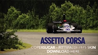 getlinkyoutube.com-Assetto Corsa | Copersucar Fittipaldi 1976 skin - Download Here