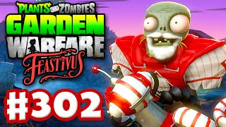 getlinkyoutube.com-Plants vs. Zombies: Garden Warfare - Gameplay Walkthrough Part 302 - Feastivus Snow Beard! (PC)