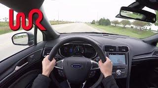 getlinkyoutube.com-2017 Ford Fusion Sport - WR TV POV First Impressions