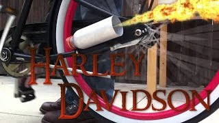 Best way to make your Bicycle sound like Harley Davidson   Tutorial #1