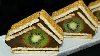 getlinkyoutube.com-Prajitura cu biscuiti si ciocolata | Prajitura fara coacere | Adygio Kitchen