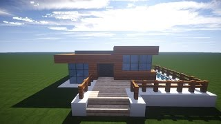 Download video minecraft luxus haus einrichten aussen for Minecraft modernes haus download 1 7 2