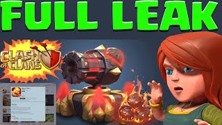 getlinkyoutube.com-Clash of Clans FULL Update LEAKED! Clash of Clans Clan Badge!