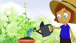 getlinkyoutube.com-Let's Water The Plants Today | Animated Nursery Rhymes & Songs For  Kids