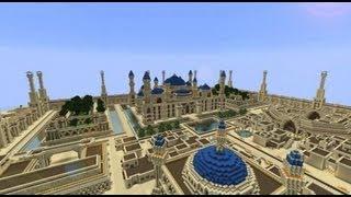 getlinkyoutube.com-Minecraft Timelapse - Arabius City