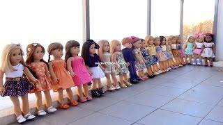 getlinkyoutube.com-All My American Girl Dolls ~ Summer 2014 ~ HD PLEASE WATCH IN HD ~