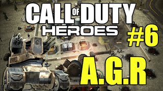 Call Of Duty Heroes Part #6 - A.G.R. Unstoppable Machine (Strategy Combat iOS)