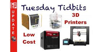 getlinkyoutube.com-Tuesday Tidbits - Low Cost 3D Printers, DaVinci Pro, Prusa I3, DaVinci Jr and More