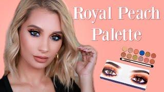 Kylie Cosmetics Royal Peach Palette Tutorial | Nicol Concilio
