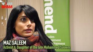 Maz Saleem marks 4th anniversary of father Mohammed Saleem's murder