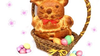Uskršnji zeka od testa - Easter Bunny Made of Dough