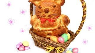 Uskršnji zeka od testa - Easter Bunny Made of Dough
