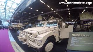 getlinkyoutube.com-Renault Trucks Defense Vehicles Display