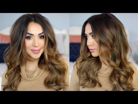 Messy Loose Curls Tutorial