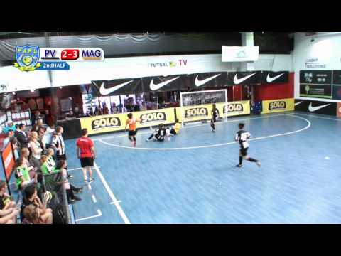 Sydney Magic vs Pascoe Vale, 1st Semi Final, Futsal Oz: Women's FAFL 2014