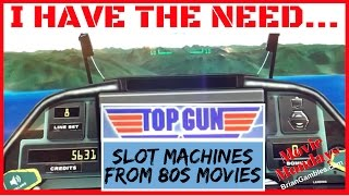 I Have The Need...80s Film Slots PART 2! ✦MOVIE MONDAYS✦ Live Play Slot Machines and Pokies