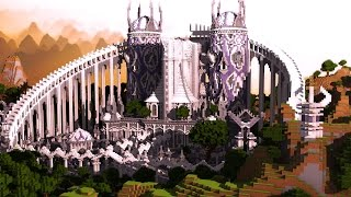 getlinkyoutube.com-[Minecraft Timelapse] Elysium Castle