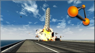 getlinkyoutube.com-BeamNG Drive Insane Caravan Destruction #2