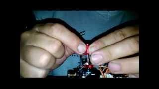 wltoys v977 upgrade 2º parte,montagem