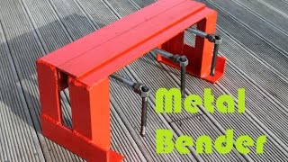 getlinkyoutube.com-Basic Sheet Metal Bender