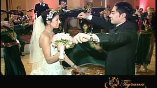 getlinkyoutube.com-Persian wedding Groom and Bride, Tigrana Dance Company !!!