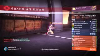 getlinkyoutube.com-63 kills Blink Shotgun PVP 1.1.2 Destiny  gameplay