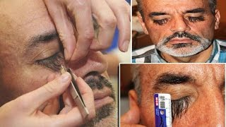getlinkyoutube.com-Longest Eyelashes in the World: Valery Smagliy credits the incredible growth to a special food