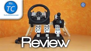getlinkyoutube.com-Logitech G27 Racing Wheel Review + Gameplay HD (Deutsch/German) - MrTechCommander