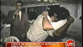 Fiesta de narcos en la supuesta finca de la discordia