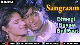 getlinkyoutube.com-Bheegi Huyee Hai Raat (Sangraam)