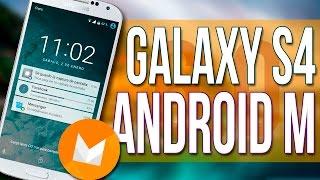 getlinkyoutube.com-Como Actualizar Galaxy S4 i9500 a Android 6.0 Marshmallow Rom CM13 GEARCM