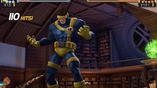 getlinkyoutube.com-Cyclops (Classic) Unboxing and Duel vs. Magneto | Marvel Contest of Champions