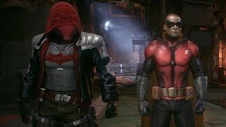 getlinkyoutube.com-Batman Arkham Knight: Red Hood & Robin Dual Play Mod