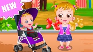 getlinkyoutube.com-Baby Hazel Game Movie - Baby Hazel Carnival Fair - Dora the Explorer