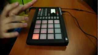 getlinkyoutube.com-[DRUM COVER] Bangarang - Skrillex (Maschine Mikro) [LIVE PERFORMANCE]