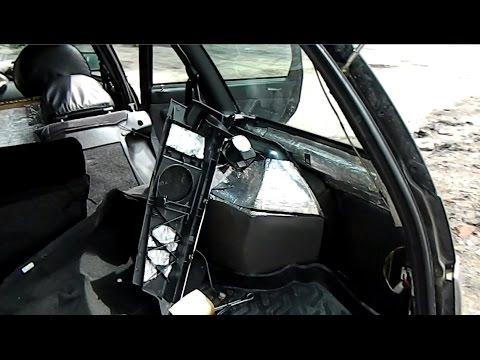 Гремит багажник/Шумоизоляция багажника ваз