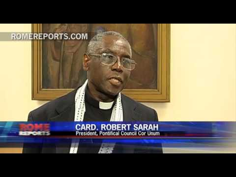 Cardinal Sarah  The man overseeing the charity works of the Church