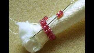 getlinkyoutube.com-Tubular Herringbone Beadwork Stitch